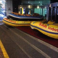 Photo taken at Kantor Pusat PT. Indosat Tbk. by Lewis G. on 1/21/2015