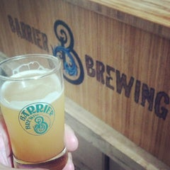 Photo taken at Barrier Brewing Co. by Barry H. on 7/6/2013