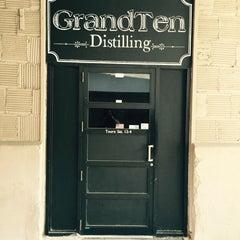 Photo taken at GrandTen Distilling by Naitasia on 6/6/2015