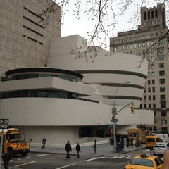 Photo taken at Solomon R. Guggenheim Museum by Nel M A. on 4/11/2013