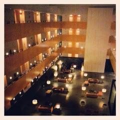 Photo taken at Hotel Tryp Barcelona Aeroport by Imanol N. on 1/31/2014