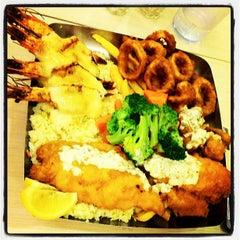 Photo taken at The Manhattan Fish Market by Jamie S. on 6/29/2012