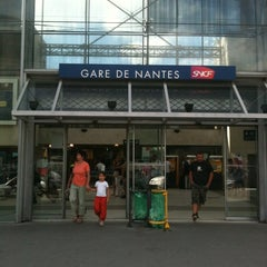Photo taken at Gare SNCF de Nantes by Caro on 8/15/2012