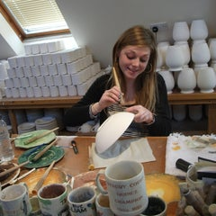 Photo taken at Aston Pottery and Trading Co by Stephen B. on 3/6/2012