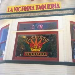 Photo taken at La Victoria Taqueria by Taylor W. on 8/19/2012