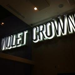 Photo taken at Violet Crown Cinema by Jen K. on 7/22/2012