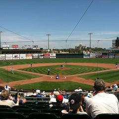 Photo taken at Principal Park by Shannon J. on 8/8/2012