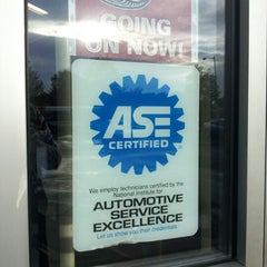 Photo taken at Pep Boys Auto Parts & Service by mary c. on 7/31/2012