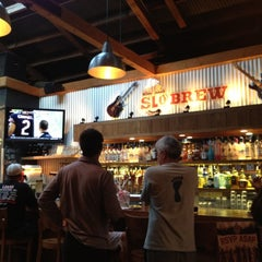 Photo taken at SLO Brew by Tricia L. on 8/22/2012