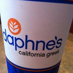 Photo taken at Daphne's California Greek by Nancy C. on 5/19/2012