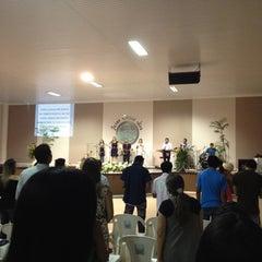 Photo taken at Igreja Mensagem De Paz by Eslon A. on 6/17/2012