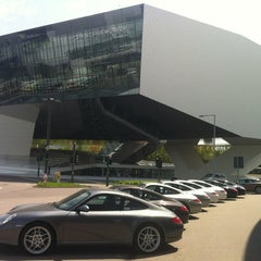 Photo taken at Porsche Museum by Gauthier F. on 5/2/2012