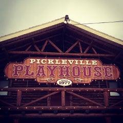 Photo taken at Pickleville Playhouse by Ashley L. on 9/1/2012