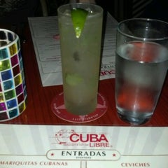 Photo taken at Cuba Libre Restaurant & Rum Bar by J.T. H. on 6/23/2012