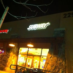Photo taken at Subway by Michael G. on 2/21/2012