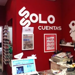 Photo taken at Ssolo Cuentas by Manuel F. on 4/12/2012