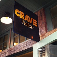 Photo taken at Crave Fishbar by jessica m. h. on 8/11/2012
