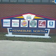 Photo taken at Kennebunk Service Plaza (Northbound) by Warren T. on 3/25/2012