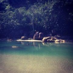 Photo taken at Praia Dura by Julia G. on 9/9/2012
