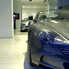 Photo taken at Aston Martin by Eric W. on 2/29/2012