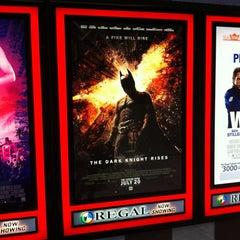 Photo taken at Regal Cinemas Ithaca Mall 14 by Eric Thomas C. on 7/31/2012