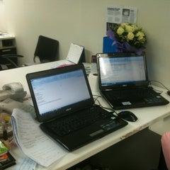 Photo taken at Ensign Media Co.,Ltd by Arada V. on 4/25/2012