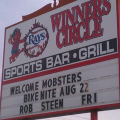 "Photo taken at Winner's Circle Sports Bar & Grill by ""Diner Dave"" B. on 8/11/2012"