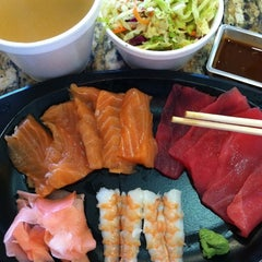 Photo taken at SanSai Japanese Grill by Jenny M. on 6/2/2012
