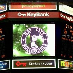 Photo taken at KeyArena at Seattle Center by MJ K. on 2/19/2012