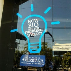 Photo taken at Universidad Americana by mmmaga x. on 3/21/2012