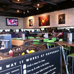 Photo taken at Hopdoddy Burger Bar by Bonnie S. on 3/13/2012