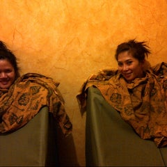 Photo taken at Sari Salon & Day Spa by Ucie R. on 8/1/2012