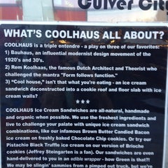 Photo taken at Coolhaus Truck by Miles T. on 9/7/2012