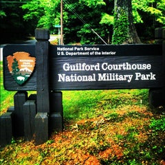 Photo taken at Guilford Courthouse National Military Park by Greensboro, NC on 6/18/2012