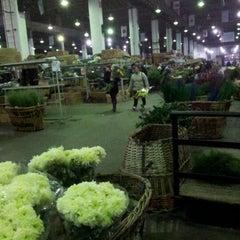 Photo taken at Mercado de flores de Buenos Aires by Maximiliano O. on 6/22/2012