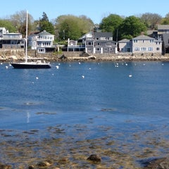Photo taken at Rockport Harbor by Ekaterina S. on 5/12/2012