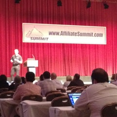 Photo taken at Affiliate Summit East 2012 by Mauricio M. on 8/14/2012