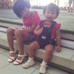 Photo taken at Taman Rekreasi Sengkaling by anang on 9/7/2014