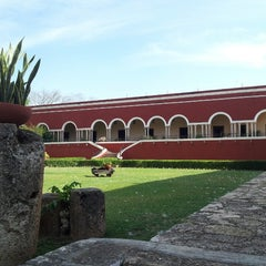 Photo taken at Hacienda Temozon by Antoine J. on 4/7/2013