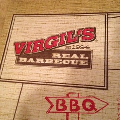 Photo taken at Virgil's Real BBQ by Rhonda B. on 9/19/2013