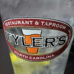 Photo taken at Tyler's Restaurant & Taproom by Anthony M. on 9/30/2012