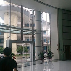 Photo taken at 苏州国际科技园 Suzhou International Science Park by LU W. on 8/14/2014