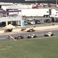 Photo taken at Charlotte Motor Speedway by Deborah P. on 6/9/2015