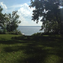 Photo taken at Cayuga Lake by Logan M. on 7/15/2014