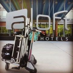 Photo taken at Aloft Charleston Airport & Convention Center by Pamela R. on 5/24/2014