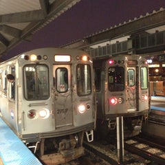 Photo taken at CTA - Howard by Igin I. on 4/11/2013