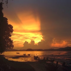 Photo taken at White Sand Krabi Resort by MZ P. on 5/3/2014