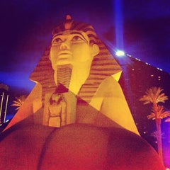Photo taken at Luxor Hotel & Casino by Eddy V. on 3/3/2013