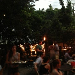 Photo taken at Bacchanal Wine by Nils M. on 7/3/2013