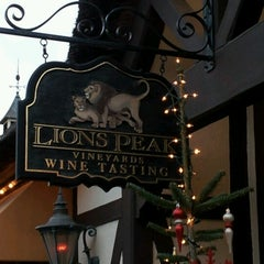 Photo taken at Lion's Peak Tasting Room by Donna W. on 1/2/2013